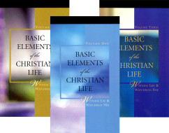 Basic Elements of the Christian Life cover